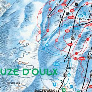 Sauze D Oulx Piste Map pistemap   sauzeonline   sauzeonline