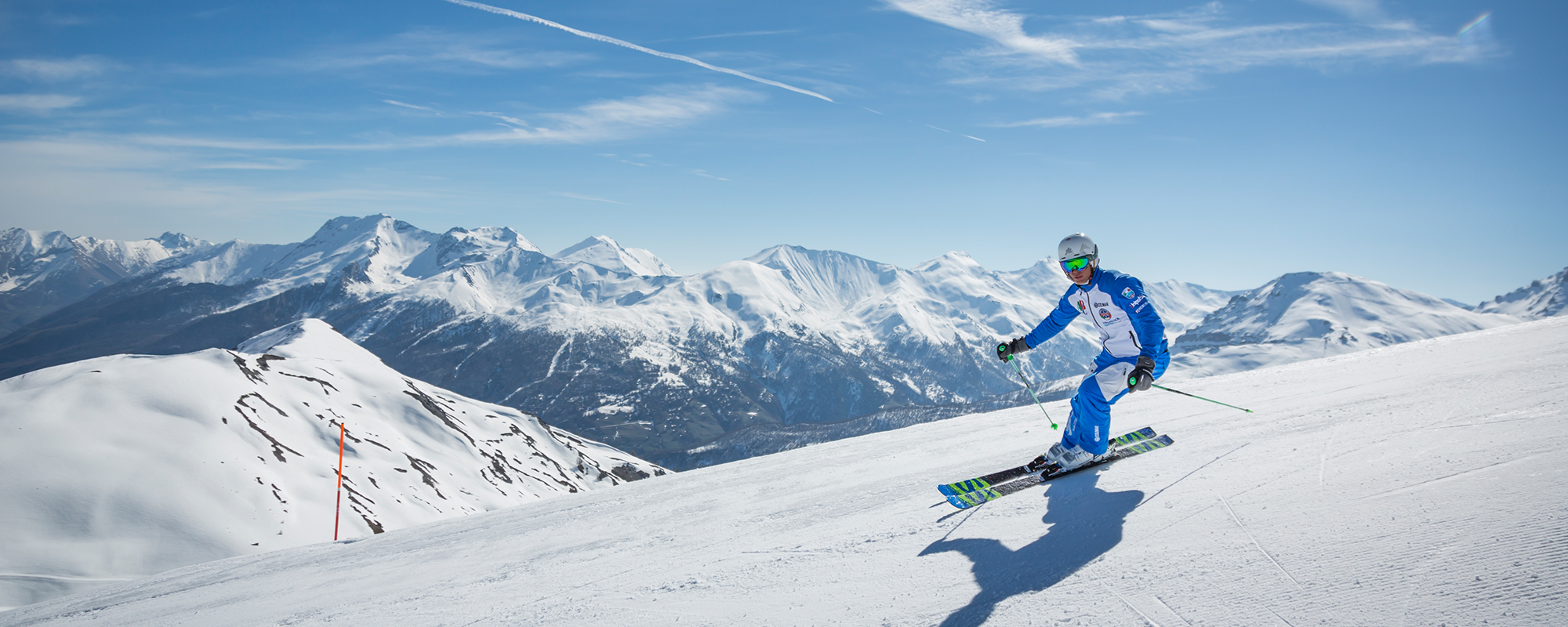 Skiing Sauze d'Oulx